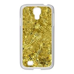 Melting Swirl F Samsung GALAXY S4 I9500/ I9505 Case (White)