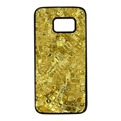 Melting Swirl F Samsung Galaxy S7 Black Seamless Case