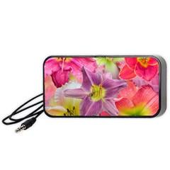 Wonderful Floral 22a Portable Speaker (black)