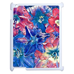 Wonderful Floral 22c Apple Ipad 2 Case (white)