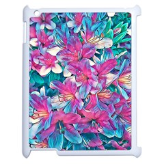 Wonderful Floral 25a Apple Ipad 2 Case (white)