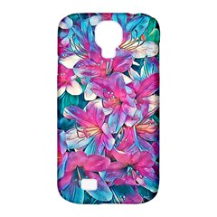 Wonderful Floral 25a Samsung Galaxy S4 Classic Hardshell Case (pc+silicone)