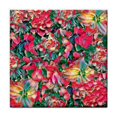 Wonderful Floral 24b Tile Coasters