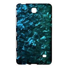 Ocean Blue and Aqua Mother of Pearl Nacre Pattern Samsung Galaxy Tab 4 (7 ) Hardshell Case