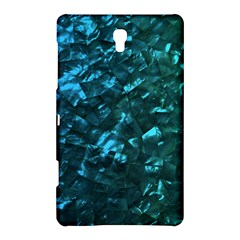 Ocean Blue and Aqua Mother of Pearl Nacre Pattern Samsung Galaxy Tab S (8.4 ) Hardshell Case
