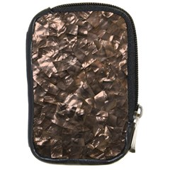 Glitter Rose Gold Shimmering Mother of Pearl Nacre Compact Camera Cases