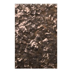 Glitter Rose Gold Shimmering Mother of Pearl Nacre Shower Curtain 48  x 72  (Small)