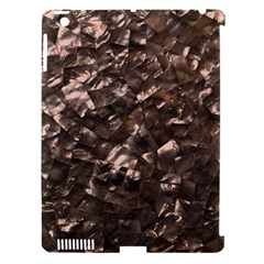 Glitter Rose Gold Shimmering Mother of Pearl Nacre Apple iPad 3/4 Hardshell Case (Compatible with Smart Cover)