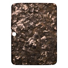 Glitter Rose Gold Shimmering Mother of Pearl Nacre Samsung Galaxy Tab 3 (10.1 ) P5200 Hardshell Case