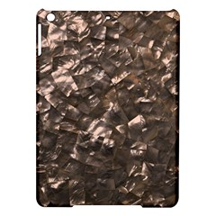 Glitter Rose Gold Shimmering Mother of Pearl Nacre iPad Air Hardshell Cases