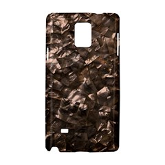 Glitter Rose Gold Shimmering Mother of Pearl Nacre Samsung Galaxy Note 4 Hardshell Case