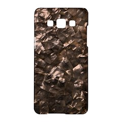 Glitter Rose Gold Shimmering Mother of Pearl Nacre Samsung Galaxy A5 Hardshell Case