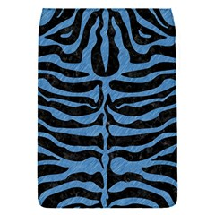 Skin2 Black Marble & Blue Colored Pencil Removable Flap Cover (s)