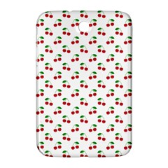 Natural Bright Red Cherries on White Pattern Samsung Galaxy Note 8.0 N5100 Hardshell Case