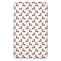 Natural Bright Red Cherries on White Pattern Samsung Galaxy Tab Pro 8.4 Hardshell Case
