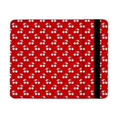 White Cherries On White Red Samsung Galaxy Tab Pro 8.4  Flip Case
