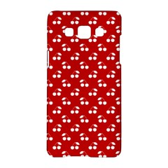 White Cherries On White Red Samsung Galaxy A5 Hardshell Case