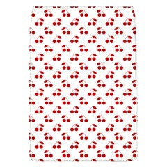 Red Cherries On White Pattern   Flap Covers (L)
