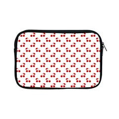 Red Cherries On White Pattern   Apple iPad Mini Zipper Cases