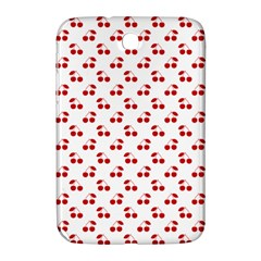 Red Cherries On White Pattern   Samsung Galaxy Note 8.0 N5100 Hardshell Case