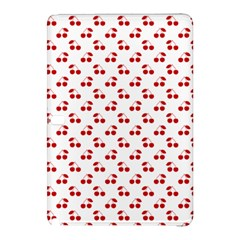 Red Cherries On White Pattern   Samsung Galaxy Tab Pro 12.2 Hardshell Case