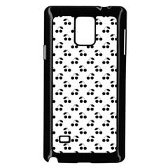 Black Cherries On White  Samsung Galaxy Note 4 Case (Black)