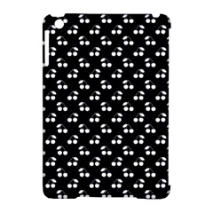 White Cherries On Black Apple iPad Mini Hardshell Case (Compatible with Smart Cover)
