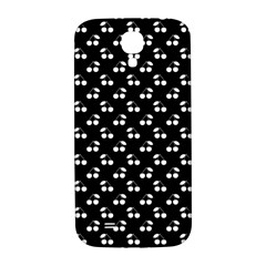 White Cherries On Black Samsung Galaxy S4 I9500/I9505  Hardshell Back Case