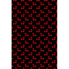 Red Cherries On Black 5.5  x 8.5  Notebooks