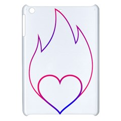 Heart Flame Logo Emblem Apple Ipad Mini Hardshell Case