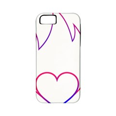 Heart Flame Logo Emblem Apple Iphone 5 Classic Hardshell Case (pc+silicone)