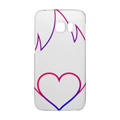 Heart Flame Logo Emblem Galaxy S6 Edge