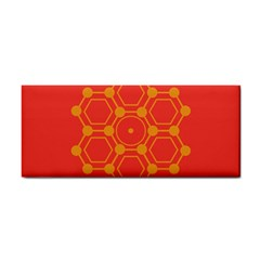 Pentagon Cells Chemistry Yellow Cosmetic Storage Cases