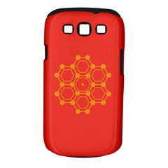 Pentagon Cells Chemistry Yellow Samsung Galaxy S Iii Classic Hardshell Case (pc+silicone)