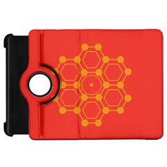 Pentagon Cells Chemistry Yellow Kindle Fire Hd 7