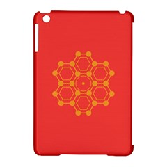 Pentagon Cells Chemistry Yellow Apple Ipad Mini Hardshell Case (compatible With Smart Cover)