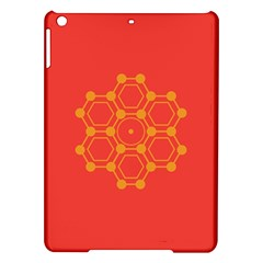 Pentagon Cells Chemistry Yellow Ipad Air Hardshell Cases