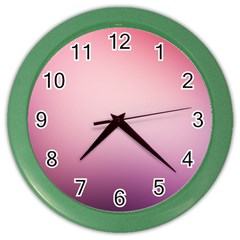 Background Blurry Template Pattern Color Wall Clocks