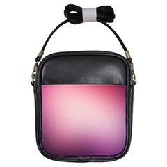 Background Blurry Template Pattern Girls Sling Bags