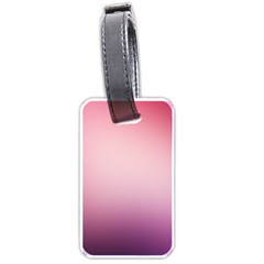 Background Blurry Template Pattern Luggage Tags (two Sides)