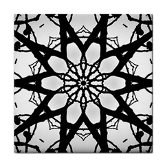 Pattern Abstract Fractal Tile Coasters