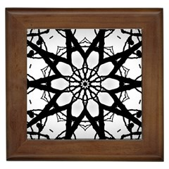 Pattern Abstract Fractal Framed Tiles