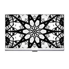 Pattern Abstract Fractal Business Card Holders