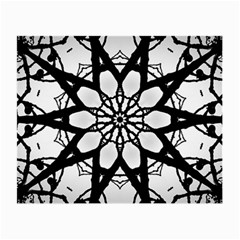 Pattern Abstract Fractal Small Glasses Cloth
