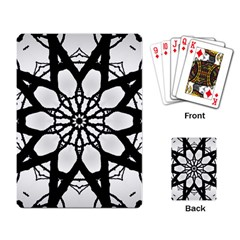 Pattern Abstract Fractal Playing Card