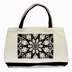 Pattern Abstract Fractal Basic Tote Bag