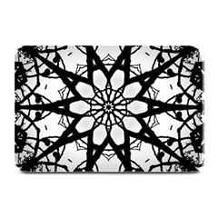 Pattern Abstract Fractal Plate Mats