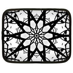 Pattern Abstract Fractal Netbook Case (large)