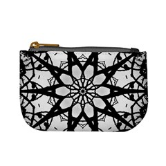 Pattern Abstract Fractal Mini Coin Purses
