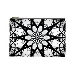 Pattern Abstract Fractal Cosmetic Bag (large)